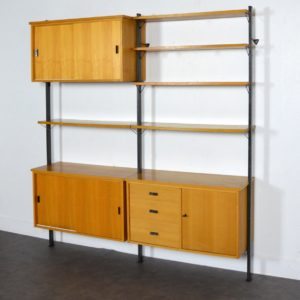 Bibliothèque Olof Pira 1960 vintage 3