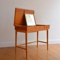 Coiffeuse : Bureau scandinave 1960 vintage 24