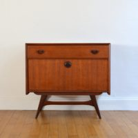 Commode Louis Van Teeffelen teck 1960s