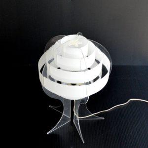 Lampe de table par Flemming Brylle & Preben Jacobsen 1960s vintage 12