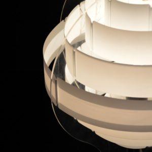 Lampe de table par Flemming Brylle & Preben Jacobsen 1960s vintage 19