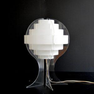 Lampe de table par Flemming Brylle & Preben Jacobsen 1960s vintage 24