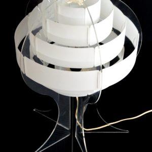 Lampe de table par Flemming Brylle & Preben Jacobsen 1960s vintage 29
