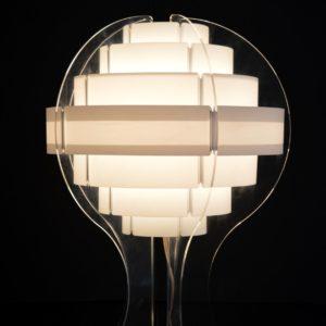 Lampe de table par Flemming Brylle & Preben Jacobsen 1960s vintage 31