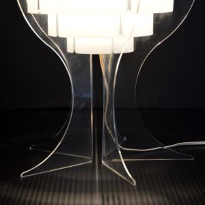 Lampe de table par Flemming Brylle & Preben Jacobsen 1960s vintage 35
