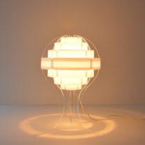 Lampe de table par Flemming Brylle & Preben Jacobsen 1960s vintage 48