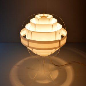 Lampe de table par Flemming Brylle & Preben Jacobsen 1960s vintage 50