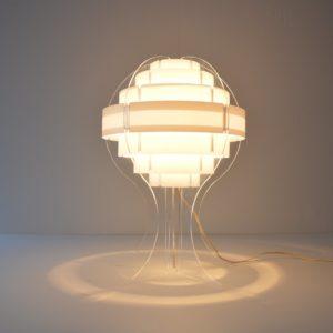 Lampe de table par Flemming Brylle & Preben Jacobsen 1960s vintage 51