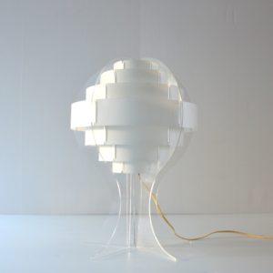 Lampe de table par Flemming Brylle & Preben Jacobsen 1960s vintage 52