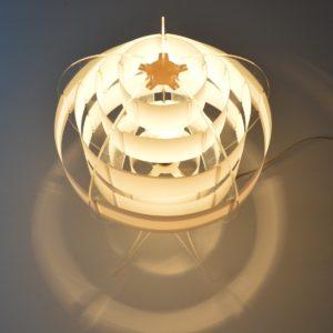Lampe de table par Flemming Brylle & Preben Jacobsen 1960s vintage 55