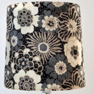 Paire de lampe de table vintage fleuris 1