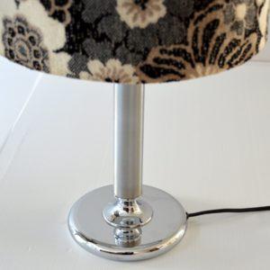 Paire de lampe de table vintage fleuris 10