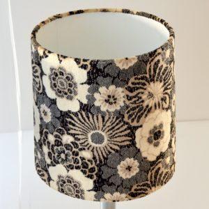 Paire de lampe de table vintage fleuris 16