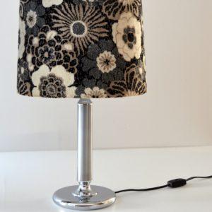 Paire de lampe de table vintage fleuris 4