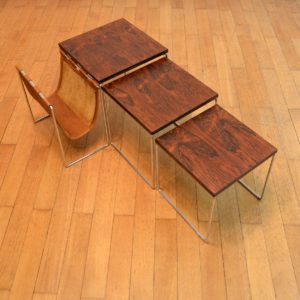tables gigognes avec porte-revues Brabantia 33