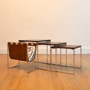 tables gigognes avec porte-revues Brabantia 8