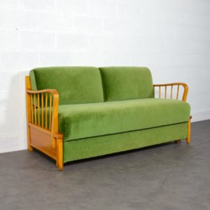 Canapé : Daybed Mignon Möbel 1960 vintage 16