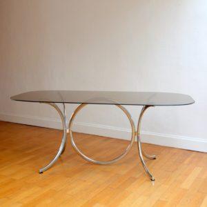 Table à mangerpar Gastone Rinaldi pour Rima, 1970s 3