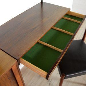 étagère – bibliothèque – bureau Kai Kristiansen scandinave palissandre 1960 vintage 25