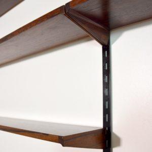 étagère – bibliothèque – bureau Kai Kristiansen scandinave palissandre 1960 vintage 38