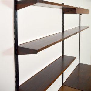 étagère – bibliothèque – bureau Kai Kristiansen scandinave palissandre 1960 vintage 65