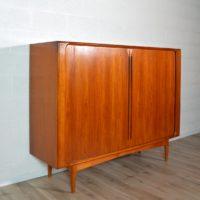 Buffet Highboard scandinave Bernhard Pedersen 1960 vintage 31