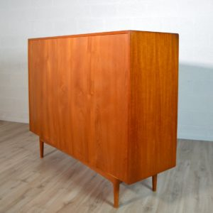 Buffet Highboard scandinave Bernhard Pedersen 1960 vintage 59