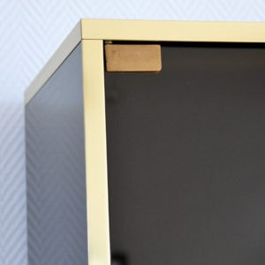 Meuble vitrine Design années 80 vintage 22