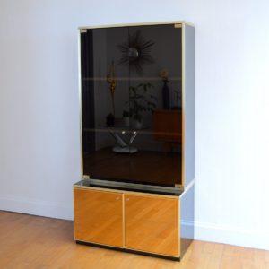 Meuble vitrine Design années 80 vintage 7
