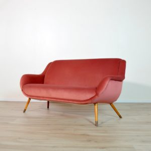 Sofa : Canapé cocktail 1960 vintage 13