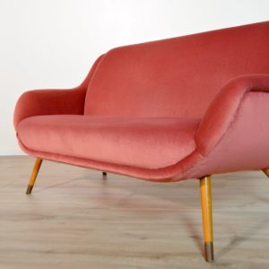 Sofa : Canapé cocktail 1960 vintage 23