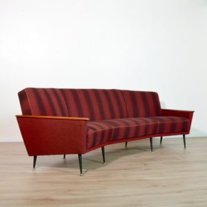 canapé incurvé années 50 vintage 29