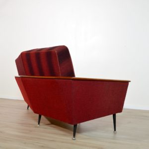 canapé incurvé années 50 vintage 51