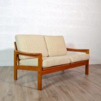 Canapé / Sofa 2 places scandinave Teck par Bernhard Pedersen & Son, 1960s