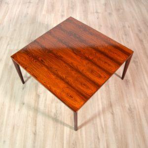 Table basse Danoise palissandre scandinave 1960 vintage 3