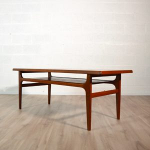 Table basse scandinave Bernhard Pedersen & Son, 1960 vintage 16