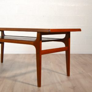 Table basse scandinave Bernhard Pedersen & Son, 1960 vintage 18
