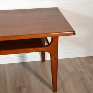 Table basse scandinave Bernhard Pedersen & Son, 1960 vintage 29
