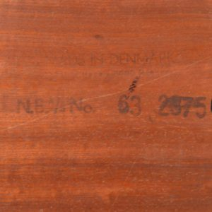 Table basse scandinave Bernhard Pedersen & Son, 1960 vintage 34