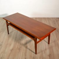 Table basse scandinave Bernhard Pedersen & Son, 1960 vintage 8