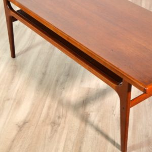 Table basse scandinave Bernhard Pedersen & Son, 1960 vintage 9