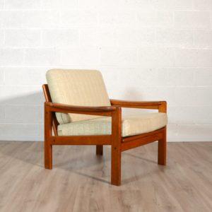 fauteuil scandinave Bernhard Pedersen & Son, 1960 vintage 1