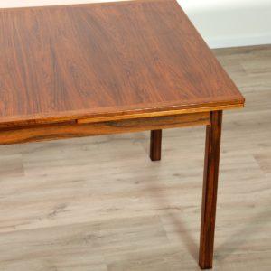 table de Troeds, Bjärnum, Suède scandinave palissandre vintage 21