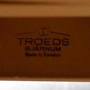 table de Troeds, Bjärnum, Suède scandinave palissandre vintage 24