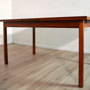 table de Troeds, Bjärnum, Suède scandinave palissandre vintage 32