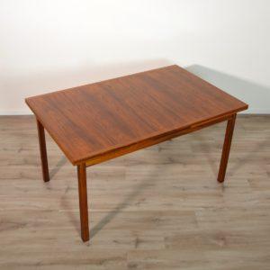 table de Troeds, Bjärnum, Suède scandinave palissandre vintage 35