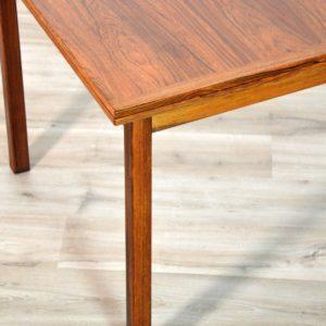 table de Troeds, Bjärnum, Suède scandinave palissandre vintage 36