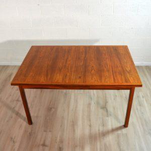 table de Troeds, Bjärnum, Suède scandinave palissandre vintage 8
