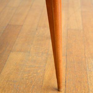 6 chaises Gaston Poisson Art Déco 1950 vintage 34