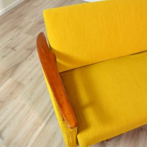 Canapé : Daybed scandinave 1960 vintage 13